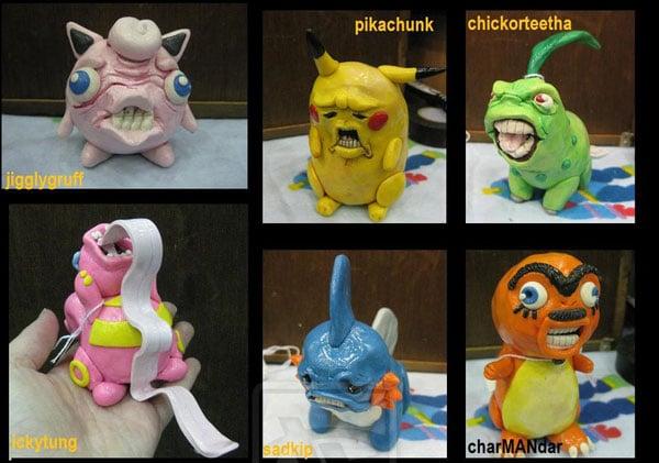 ugly pokemon by eattoast