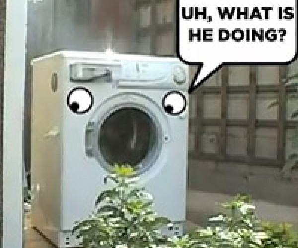 The Face of Washing Machine Destruction