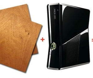 Wooden Xbox 360 Slim Laptop: Yours if You'Ve Got the Cash