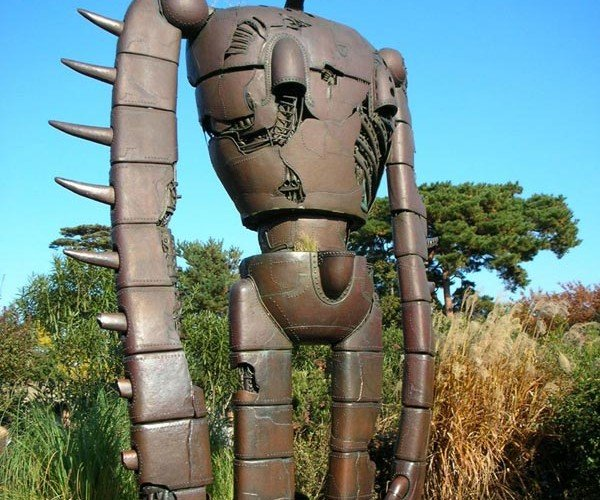Robot From Miyazaki's Castle in the Sky Comes to Life