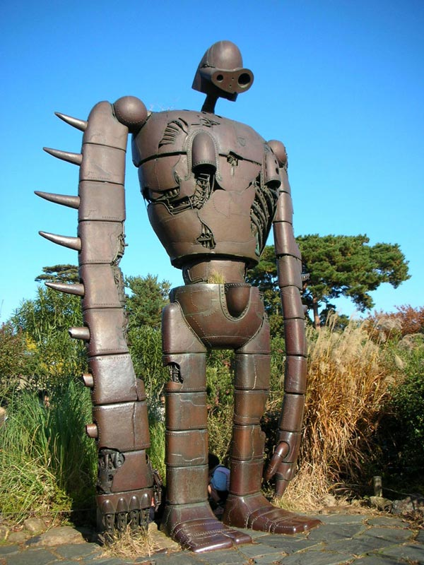 Robot From Miyazaki S Castle In The Sky Comes To Life