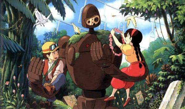 studio ghibli miyazaki anime laputa castle in the sky