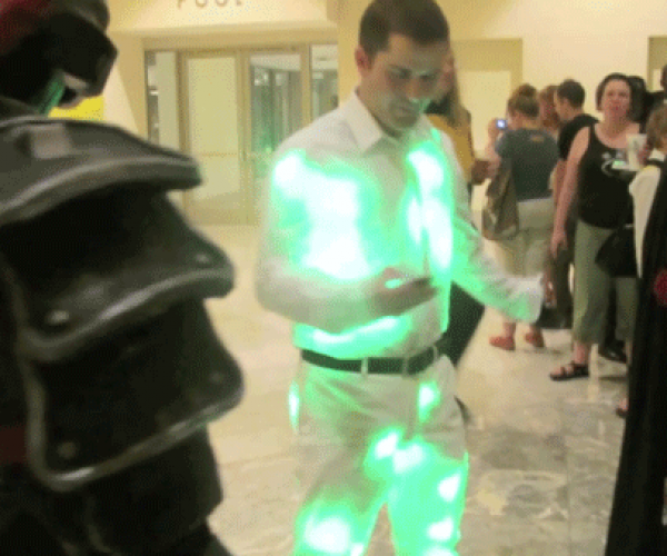 IPhone-Controlled LED Suit Perfect for Raves (or Holiday Parties)