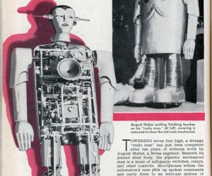 "The Yodeling Radio Man, a ""Classic"" Robot From the 1930s"