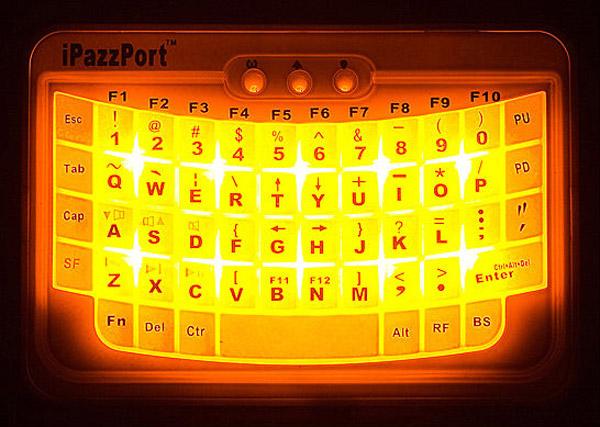 ipazzport keyboard bluetooth iphone brando ipad ps3