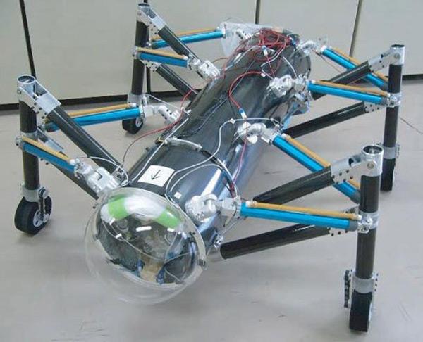 robot japan tokyo air hopper grasshopper