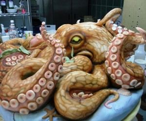 200lb. Octopus Cake: Cthulhu Would Approve