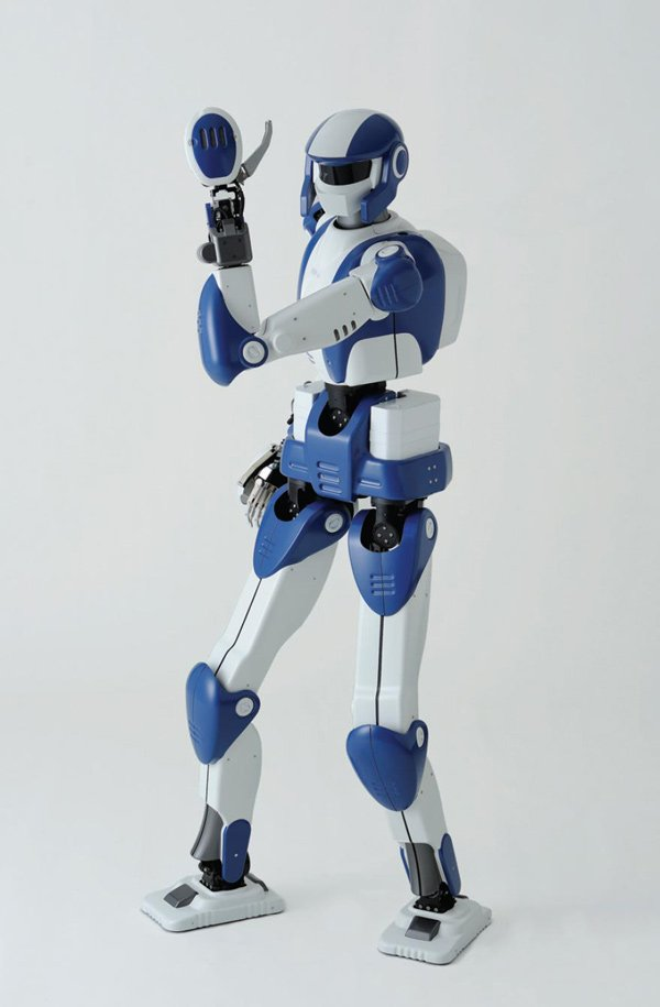 robot japan elderly humanoid
