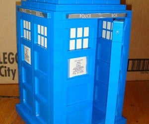 LEGO Tardis Needs Arduino to Power Siren: Overkill?