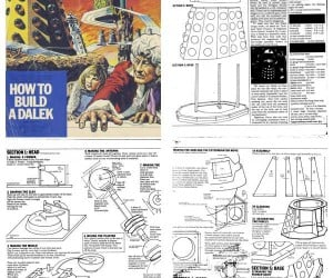 Make Your Own Daleks to Take Over the World With These Amazing Plans!