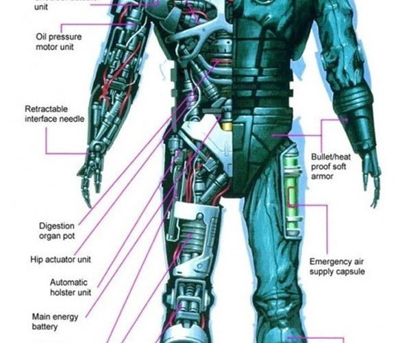Robocop'S Anatomy: Not a Lot of Meat, but a Lot of Robot