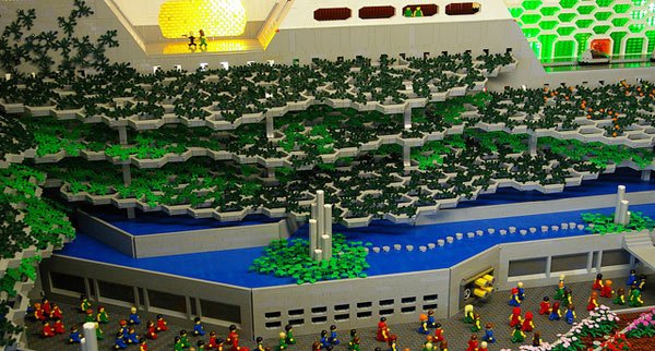 logan's run science-fiction 1976 retro lego diorama