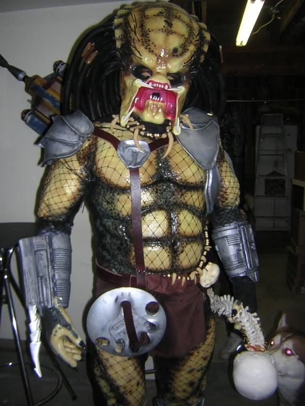 predator retro movie costume halloween