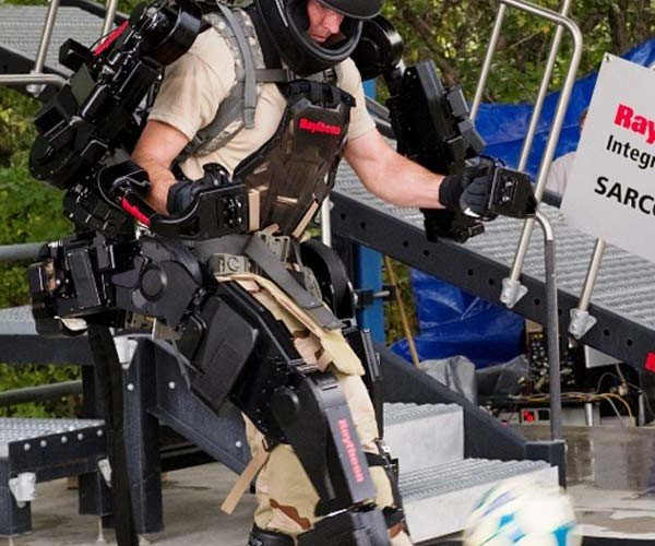 Move Over Sci-Fi, Robot Exoskeletons Are Coming Thanks to Raytheon