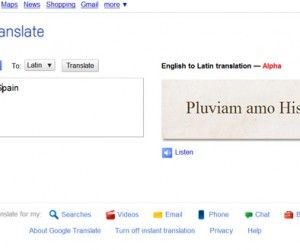 Google Adds Latin Translation: Now You Can Swear in a Dead Language!