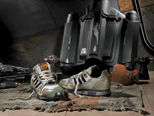 Adidas Originals Star Wars Boba Fett Shoes