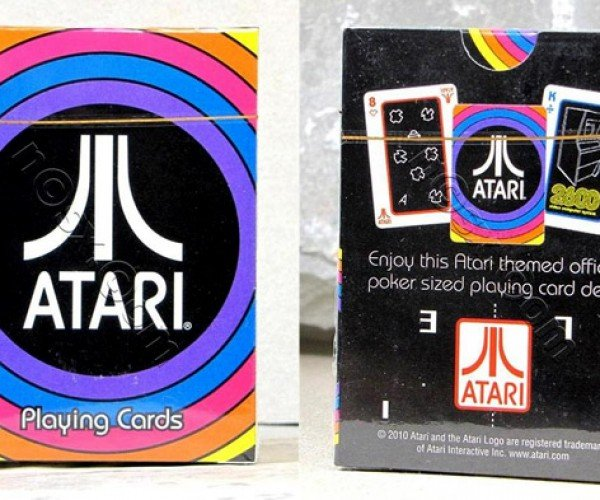 Atari Playing Cards: I'Ve Got Trip 8s of Asteroids, How 'Bout You?