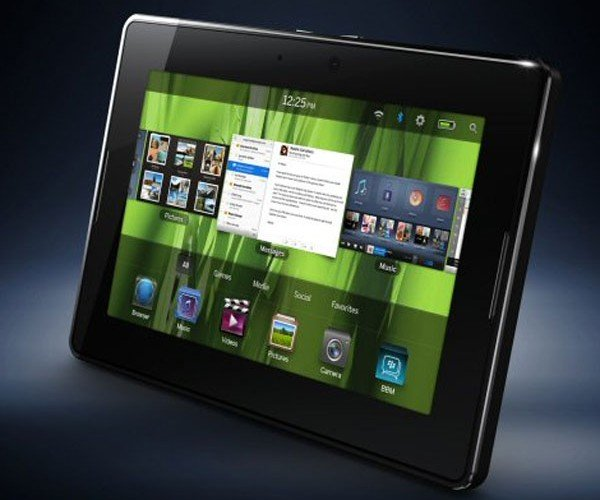 Rim Blackberry Playbook Tablet Takes Aim at iPad – Price, Release Date Not Set