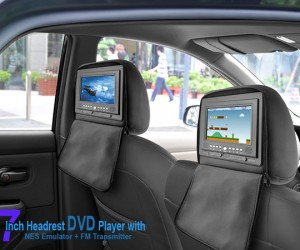 Headrest DVD Player Comes With NES, SNES Emulator: Your 25-Year Old Kids Will Love It