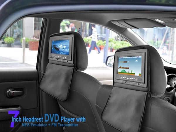 chinavision headrest media player nes snes emulator