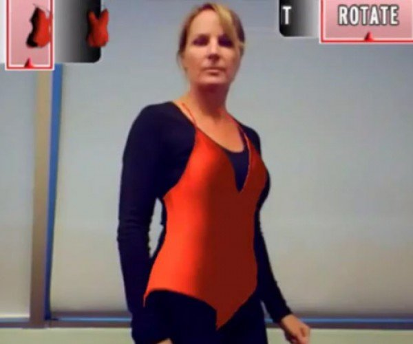 Augmented Reality App Lets Women Try on Swimsuits Virtually