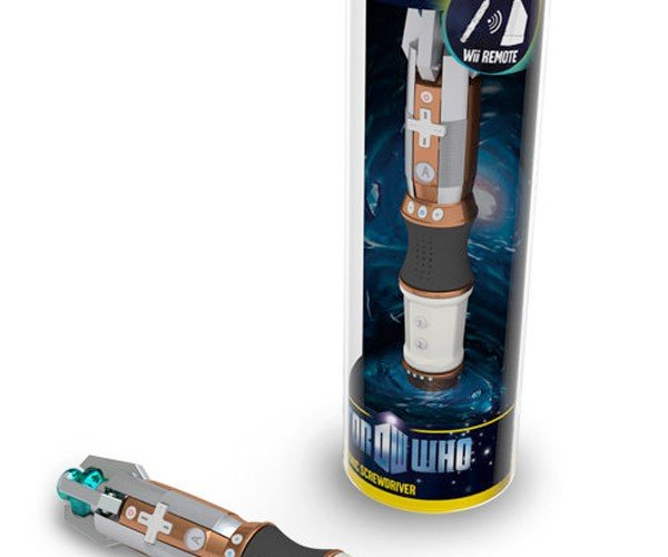 Doctor Who Sonic Screwdriver Wii-Mote: Bleh?
