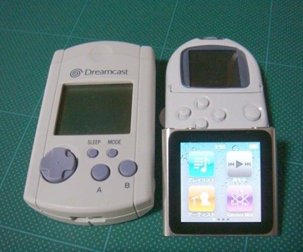 dreamcast visual memory unit vmu ipod nano 2