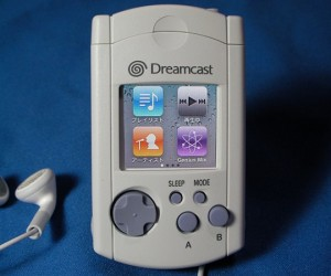 Visual Memory Nano: iPod Nano Stuffed Inside Dreamcast VMU