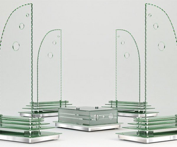 Greensound Glass Speakers: Perfect for People in Glass Houses
