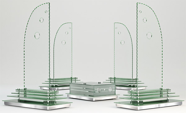 greensound technology glass speakers