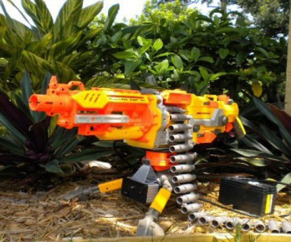 Heat-Seeking Nerf Gun: the Predator'S Toy of Choice