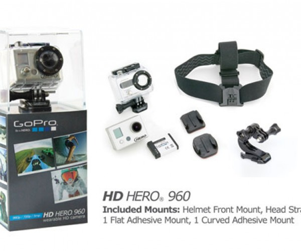 Gopro Unveils HD Hero 960 Wearable Camcorder