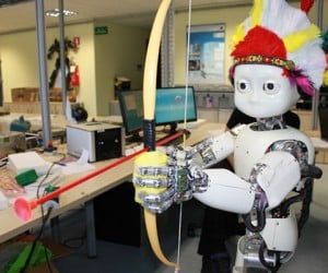 Robot Archer Hits Bulls Eye by 8th Try: Can You Learn to Dodge Perfectly in 7?