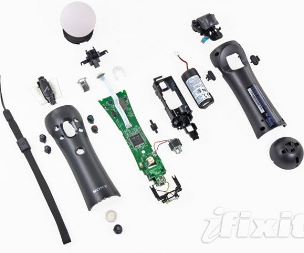 Ifixit Guts Playstation Move Controller