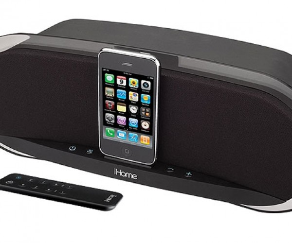 Ihome Ip3 Studio Series iPod/iPhone Dock Gets 50w of Thump