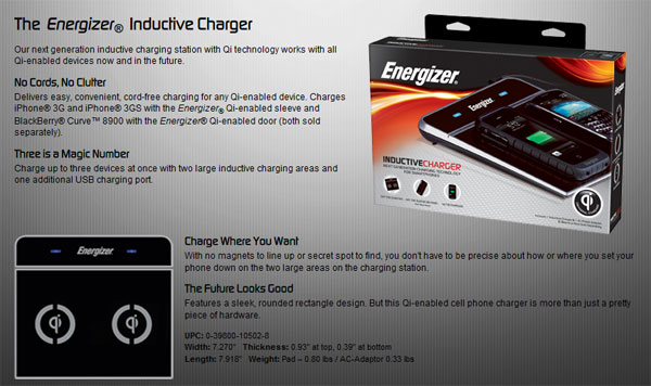 Energizer Wireless Charger
