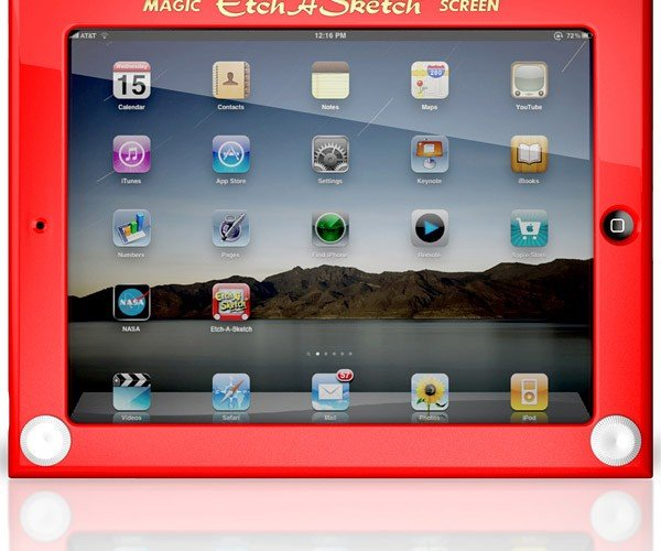 Etch a Sketch iPad Case Gets Official, Can Draw More Than Straight Lines