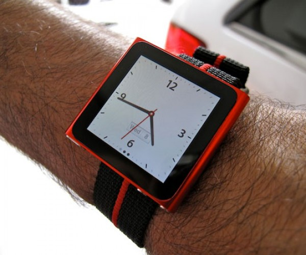 Watch Band Turns New iPod Nano Into a Wrist Watch