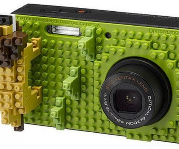 Pentax Optio Nb1000 Camera: LEGO My Nanoblocks!