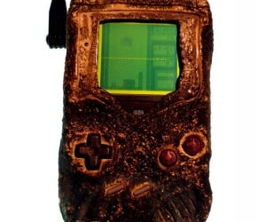 Game Boy Charred, but Still Plays