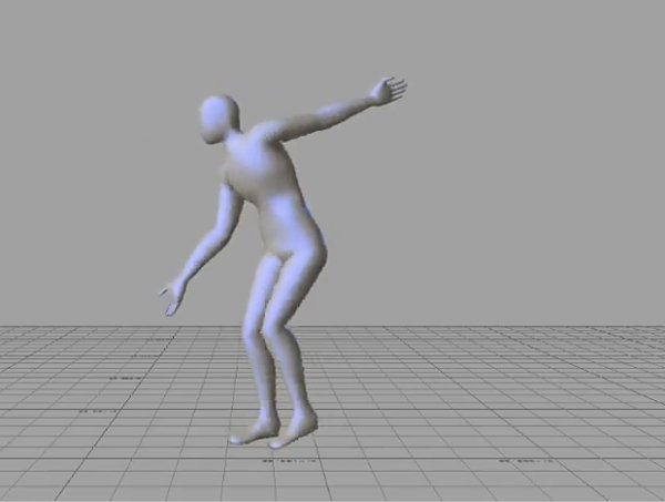 motion capture good male dance moves