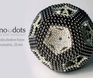 Nanodots Are Like Magnetic Bb'S and LEGO Rolled Into One