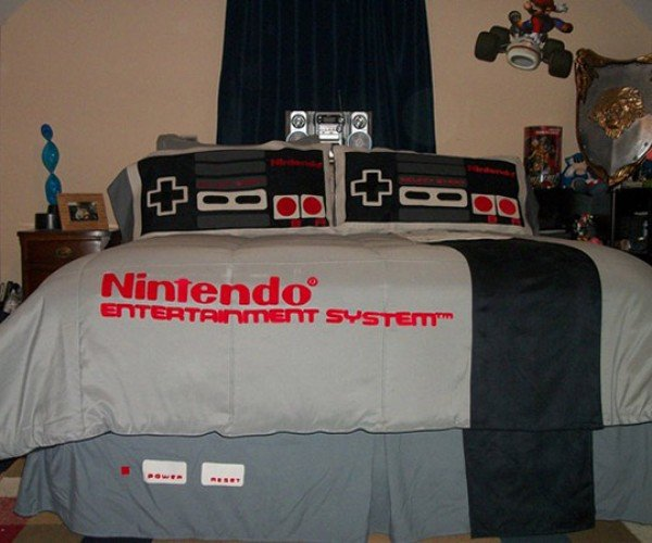 NES Bed Will Make You Dream in 8-Bit