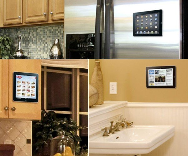Padtab Wall Mounts Your iPad and is Perfect for Geek Art