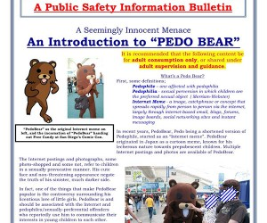 California Police on the Lookout for Nonexistent Pedobear