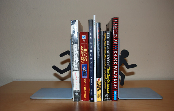 Portal bookends are not lies technabob - Portal bookend ...