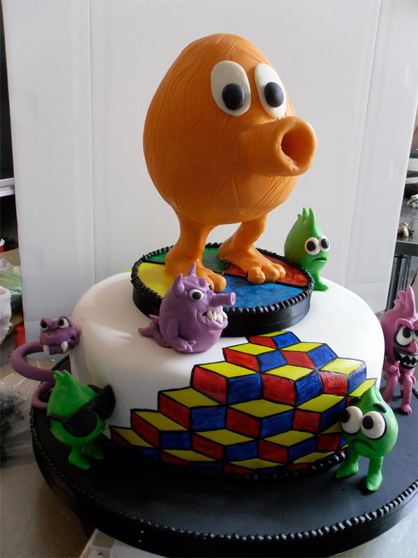 qbert_cake_highland_bakery