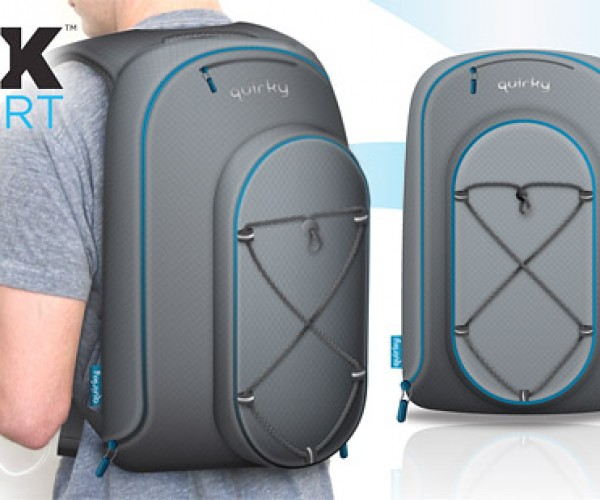 Quirky Trek Support Keeps Your Batteries Charged on the Go
