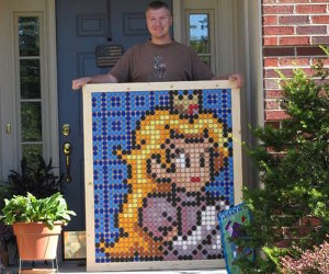 Bottle Cap Princess Peach: the Princess Gets Recycled