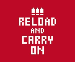 reload and carry on poster 300x250